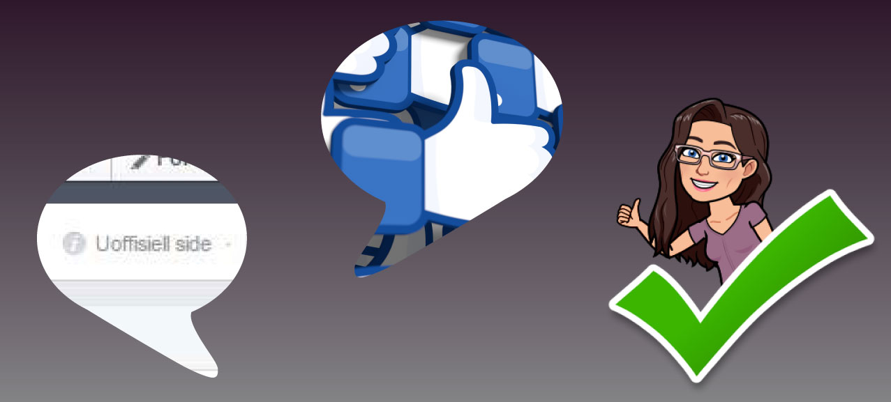 93cb1b79 Hvordan gjøre krav på en uoffisiell side på Facebook