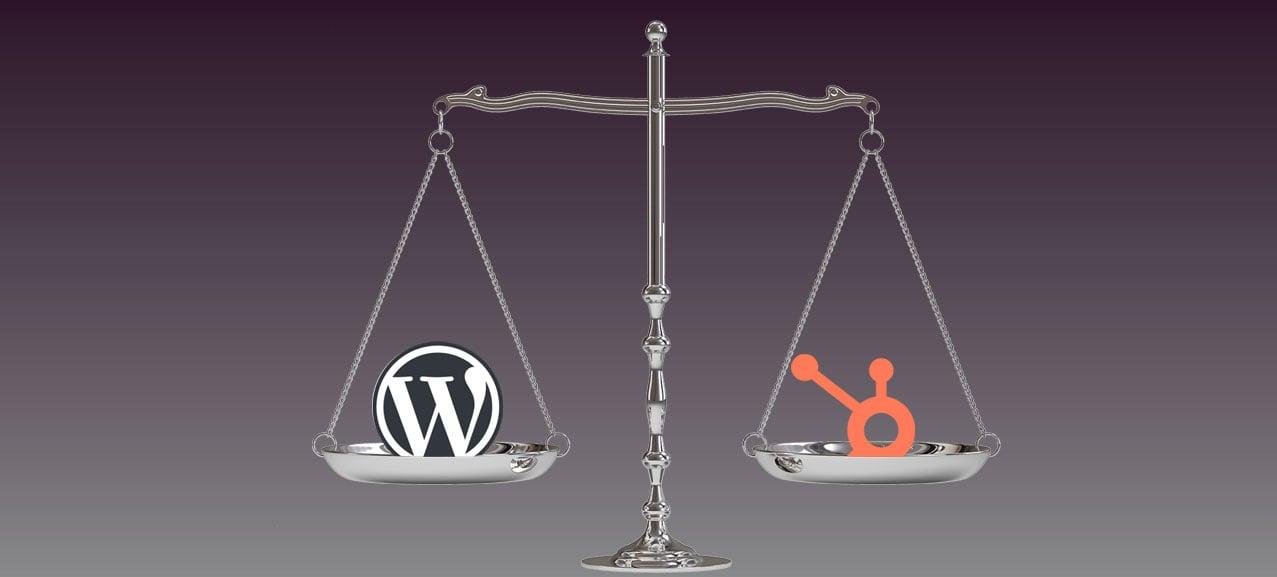 HubSpot versus WordPress